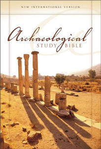 NIV Archaeological Study Bible, Large Print: An Illustrated Walk Through Biblical History and Culture