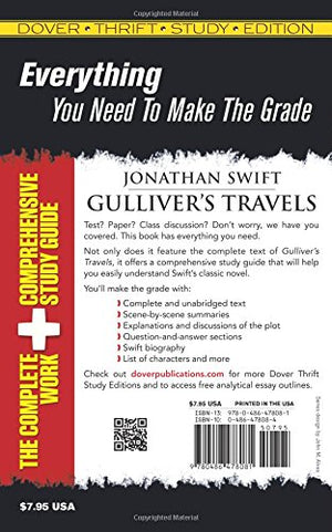 Gulliver's Travels (Dover Thrift Study Edition)