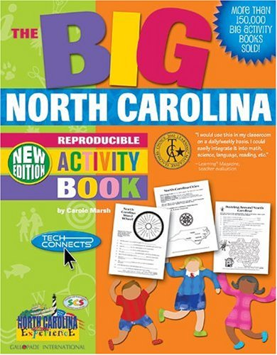 The BIG North Carolina Reproducible Activity Book-New Version (North Carolina Experience)