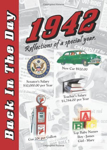 1942 Back In The Day Almanac -- 24-page Booklet / Greeting Card