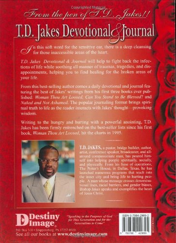 T. D. Jakes Devotional and Journal