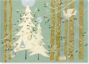 Pines and Birches Deluxe Boxed Holiday Cards (Christmas Cards, Holiday Cards, Greeting Cards)