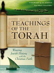 NIV, Teachings of the Torah, Imitation Leather, Brown: Weaving Jewish History with the Christian Faith