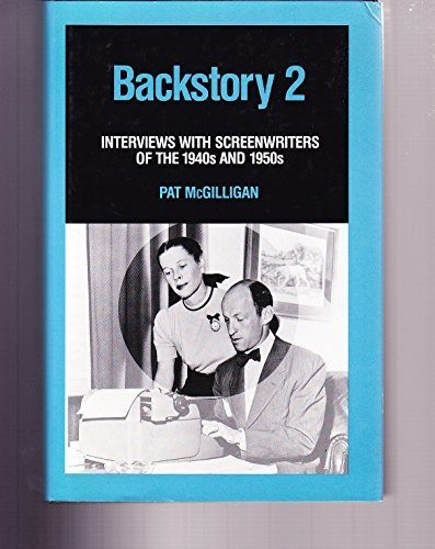 Backstory 2: Interviews With Screenwriters of the 1940's and 1950's