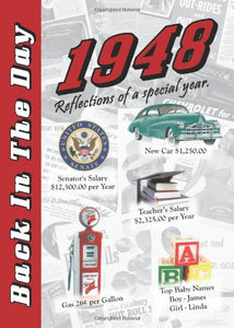 1948 Back In The Day Almanac -- 24-page Booklet / Greeting Card
