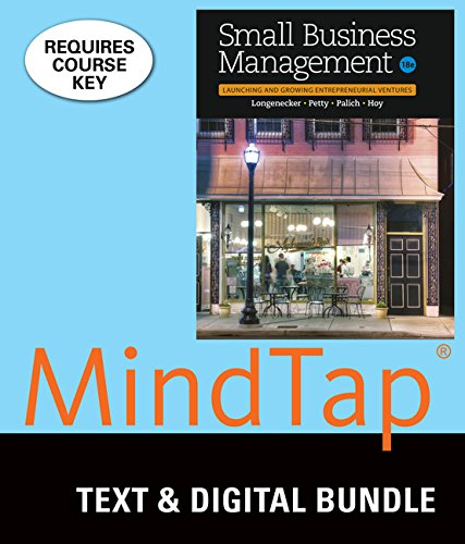 Bundle: Small Business Management: Launching & Growing Entrepreneurial Ventures, Loose-Leaf Version, 18th + LMS Integrated for MindTap Management, 1 term (6 months) Printed Access Card