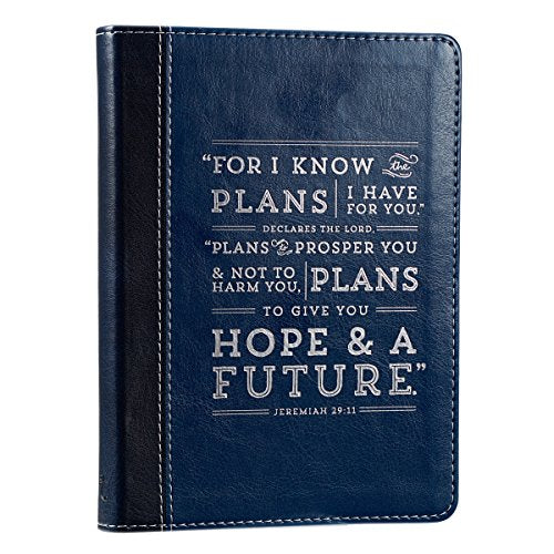Deep Blue Jeremiah 29:11 Flexcover Journal