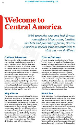 Lonely Planet Central America on a shoestring (Travel Guide)