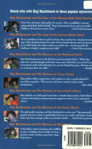 Meg Mackintosh and the Mystery in the Locked Library: A Solve-It-Yourself Mystery (Meg Mackintosh Mystery series)
