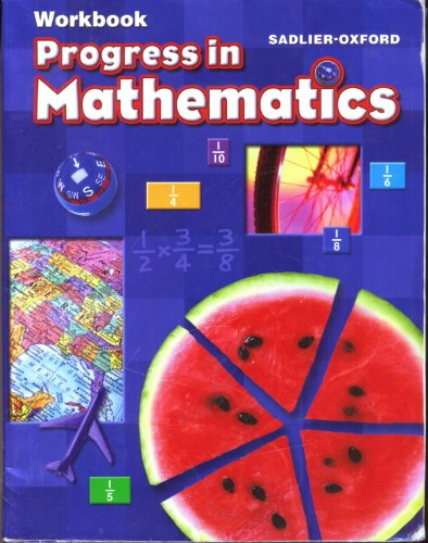 Progress in Mathematics workbook, grade 5