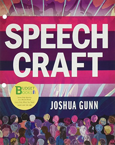 Loose-leaf Version for Speech Craft