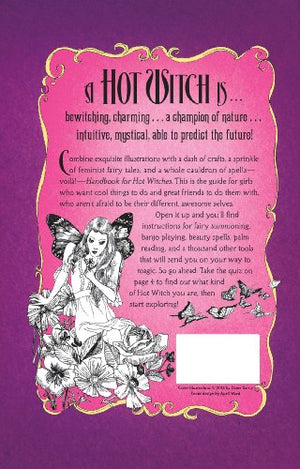 Handbook for Hot Witches: Dame Darcy's Illustrated Guide to Magic, Love, and Creativity