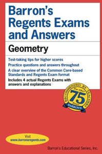 Regents Exams and Answers: Geometry (Barron's Regents Exams and Answers)