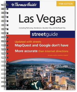 The Thomas Guide Las Vegas Streetguide (Las Vegas and Clark County Street Guide)