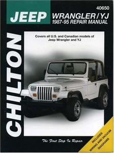 Jeep Wrangler/YJ 1987-95 (Chilton's Total Car Care.)