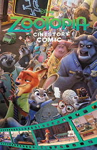Disney Zootopia Cinestory Comic
