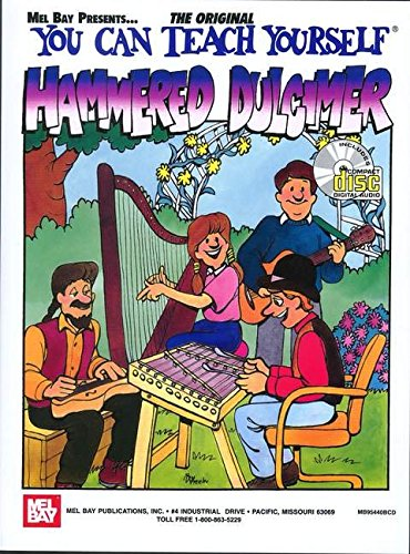 Mel Bay's You Can Teach Yourself Hammered Dulcimer Book/CD Set
