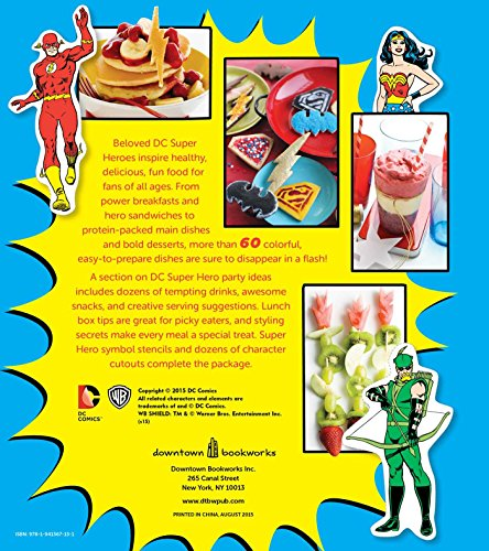 The Official DC Super Hero Cookbook Deluxe Edition (DC Super Heroes)