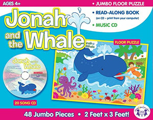Jonah & The Whale Giant Floor Puzzle & CD (I'm Learning the Bible Floor Puzzle)