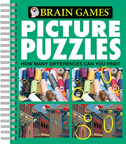 Picture Puzzles: How Many Differences Can You Find? (Brain Games)