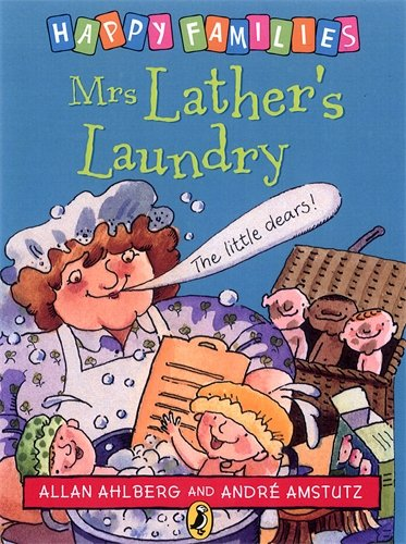 Happy Families Mrs Lathers Laundry