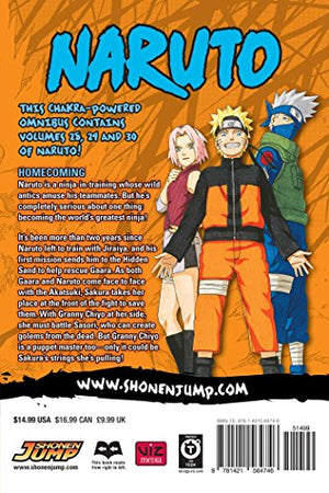 Naruto (3-in-1 Edition), Vol. 10: Includes Vols. 28, 29 & 30