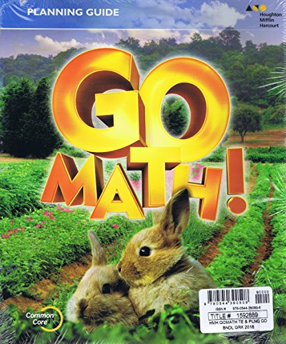 GO Math!: Teacher Edition and Planning Guide Bundle Grade K 2015