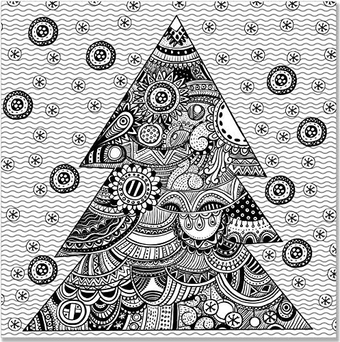 Christmas Designs Adult Coloring Book (31 stress-relieving designs) (Studio)