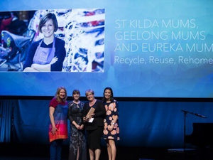 Mum's the word at the 2015 Premier's Sustainability Awards