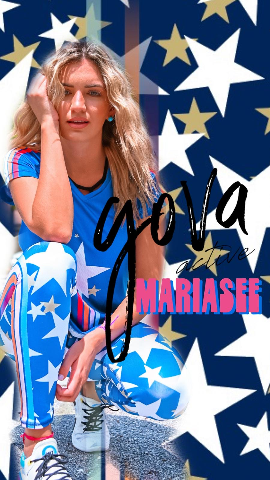 GOVA X MARIASEE – STAR LEGGINGS