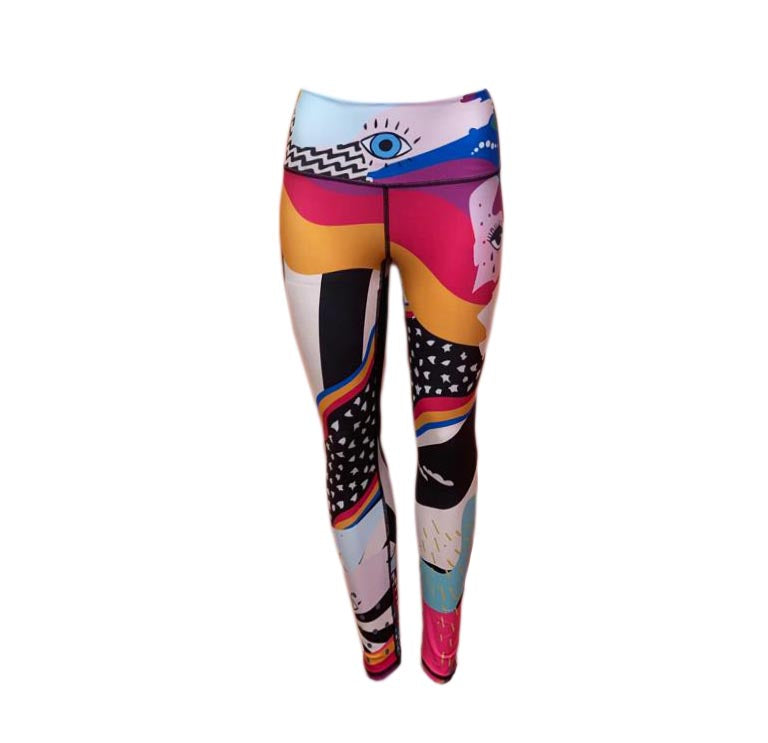 GOVA X MARIASEE LEGGINGS POP ART