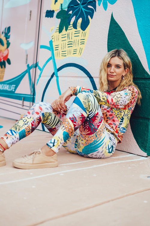 GOVA  x MARIASEE / Jungle Leggings