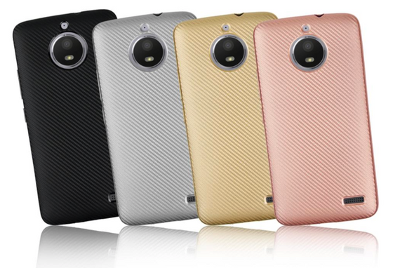 Textured TPU Case for Motorola Moto E4