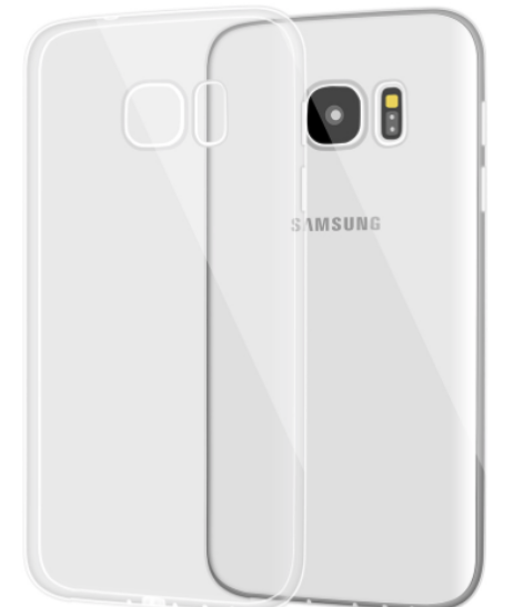 Clear Back Samsung Galaxy S7 Edge Case