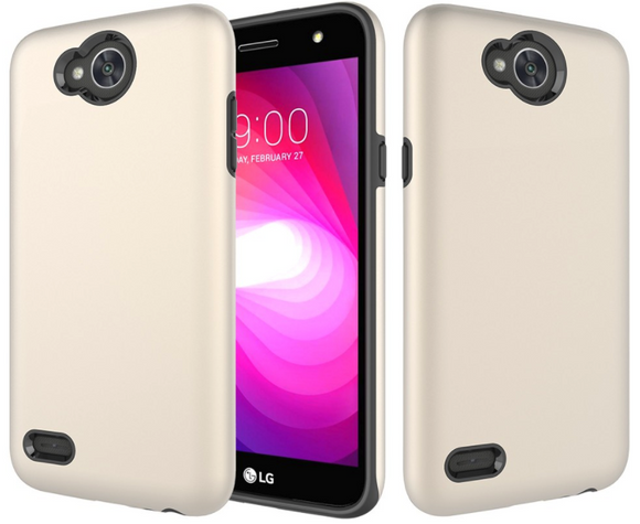 Protective Back Cover Case for LG X Charge