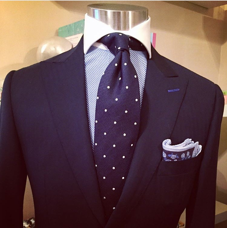 Royal Blue Custom Suiting