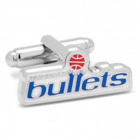 Washington Bullets Vintage Cufflinks