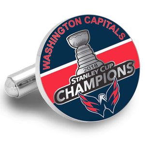 Washington Capitals Stanley Cup Champion Cufflink