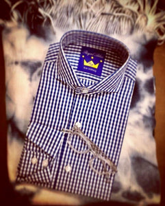 Royal Blue Custom Shirt