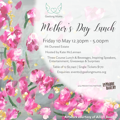 Geelong Mums Mother's day Lunch
