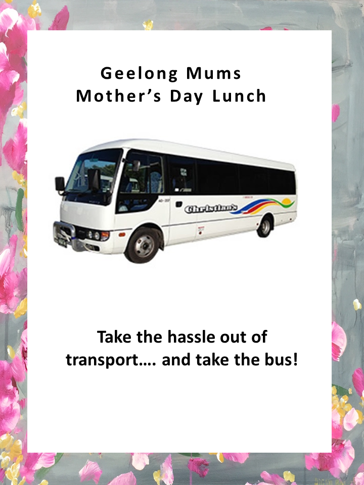 One way bus ticket for Mother's Day Lunch