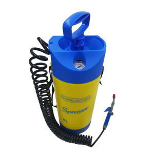 AE-126 - 8L Sprayer w/Pressure Gauge and 25 Foot Expandable Hose - AE QUALITY FILM