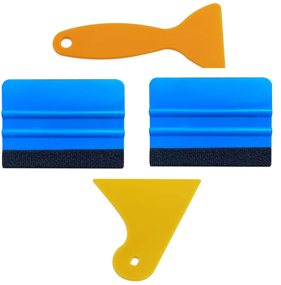 AE-995  Edge Squeegee Car Wrapping Tool Kits 4 Inch Vinyl Wrap Squeegee Applicator Tool for Car Vinyl Wrap - AE QUALITY FILM