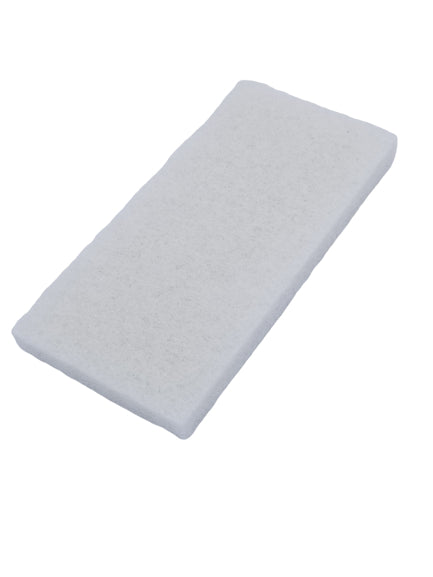 "AE-114 - Thick White Scrub Pad 9.5"" X 5"" - AE QUALITY FILM"