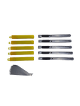 AE-12510X - 10pc Utility Knife and Replacement Blade Set - AE QUALITY FILM