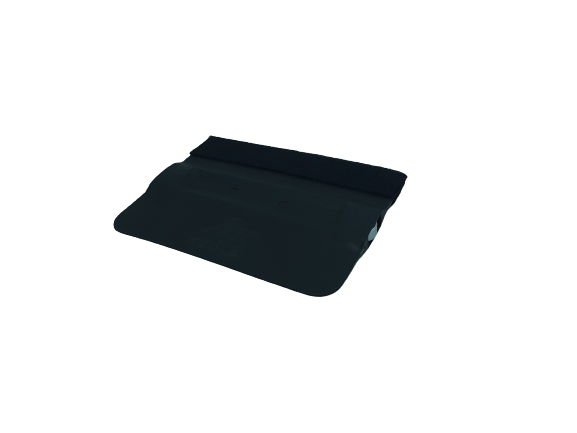 AE-82BKMF - Black Magnetic Bondo Card with Felt