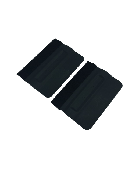 AE-82BKMF2 - Black Magnetic Bondo Cards with Felt (2pk)