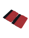 AE-82RMF2 - Red Magnetic Bondo Cards with Felt (2pk)