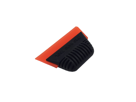 AE-16O - Pro Handle with Angled Beveled Orange Blade