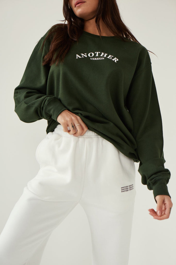 Classic Av Sweatshirt - Dark Green